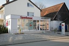 Sparkasse Geldautomat Hüttisheim