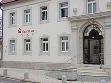 Sparkasse Geldautomat Oberdischingen