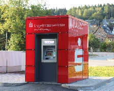 Sparkasse Geldautomat Antonsthal