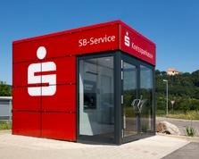 Sparkasse SB-Center Donzdorf Ortsumfahrung (Würfel)