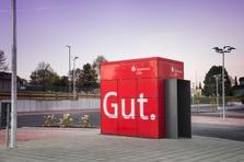 Sparkasse Geldautomat Fachmarktzentrum Laichingen