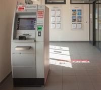 Sparkasse Geldautomat Meißen Sägewerk