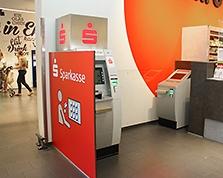 Sparkasse Geldautomat Hiebers Frische Center
