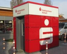 Sparkasse Geldautomat SB-Pavillon (REWE)