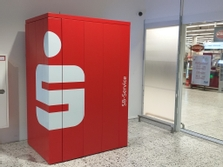 Sparkasse Geldautomat Dülmen, real-Markt