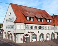 Sparkasse Geldautomat Schömberg