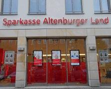 Sparkasse Geldautomat Altenburg Markt