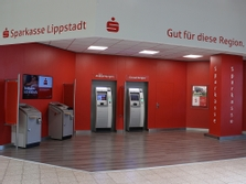 Sparkasse Geldautomat Lippstadt, real,-Markt