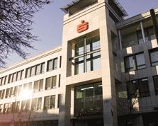 Sparkasse Geldautomat KompetenzCenter Bauhausstadt