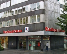 Sparkasse Geldautomat Eicken