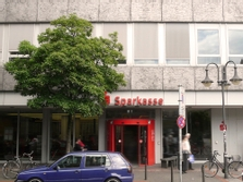 Sparkasse Geldautomat Hansastraße