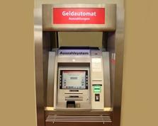 Sparkasse Geldautomat Kommern