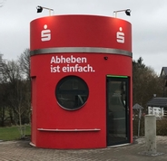 Sparkasse Geldautomat SB Filiale Stadtkyll
