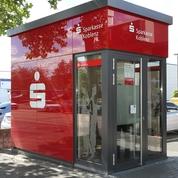 Sparkasse Geldautomat Industriegebiet