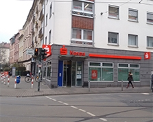 Sparkasse Geldautomat Frankfurt-Nordend