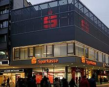 Sparkasse Geldautomat Bahnhofstraße