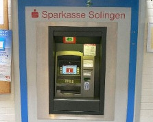 Sparkasse Geldautomat Städt. Klinikum
