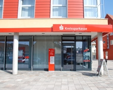 Sparkasse Geldautomat Asperg