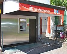 Sparkasse Geldautomat Stetten