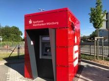 Sparkasse Geldautomat Unterdürrbach