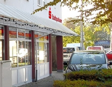 Sparkasse Geldautomat Stadtfeld