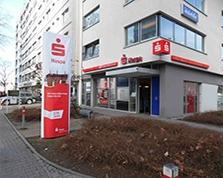 Sparkasse Geldautomat Frankfurt, Mainzer Landstr.