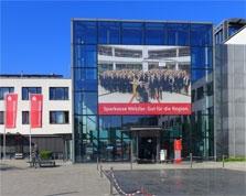 Sparkasse Geldautomat Seibertstraße -Zentrale-