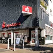 Sparkasse Geldautomat Fliegenbusch