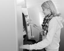 Sparkasse Geldautomat Hülsenbusch