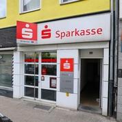 Sparkasse Geldautomat Frohnhauser Markt